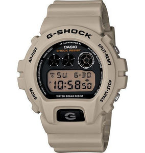 Casio Men's DW6900NB-1 G-Shock Ltd. Mirror-Metallic Dial Black Silver Watch