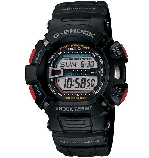 Casio Men's G8900SC-7 G-Shock Big-Case Crazy Colors Blue White Watch