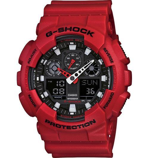 Casio Men's GA1000FC-1A G-Shock Aviation Twin Sensor Black IP Watch