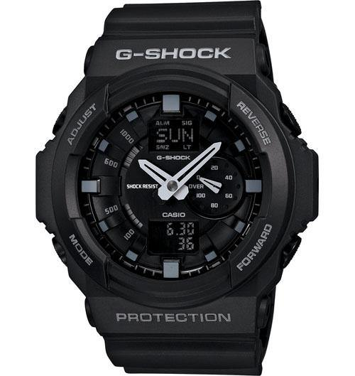 Casio Men's GA110TS-8A3 G-Shock X-Large Skeleton Neon Accent Gray Green Watch