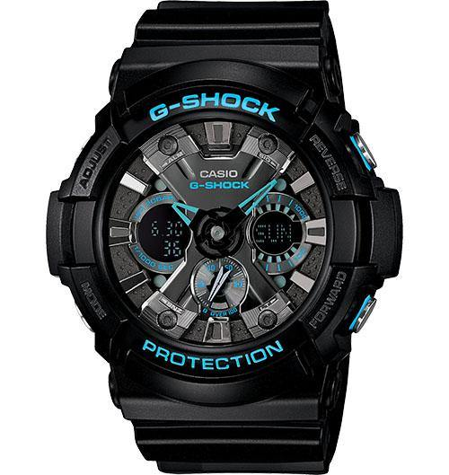 Casio Men's GA201-1ACR G-Shock High-Value Combi Watch