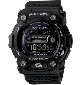 Casio Men's GW2310FB-1 G-Shock Multi-Band 6 Atomic-Solar Black Reverse LCD Watch