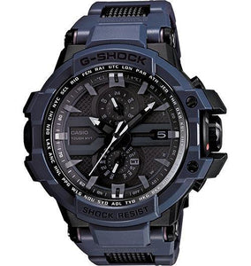 Casio Men's GWA1000FC-1A4 G-Shock G-Aviation Triple G Black w Orange Accents Watch