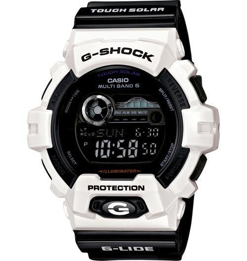 Casio Men's GWA1100R-4A G-Shock G-Aviation MB6 Triple G Resist + Compass Sapphire Glass Orange Resin Watch