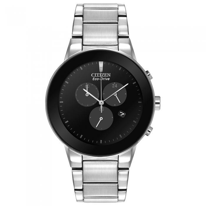 Citizen Men's AT2240-51E Axiom Stainless Steel Eco-Drive Watch