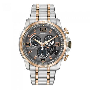 Citizen Men's BY0106-55H Two-Tone Chrono Time A-T Watch