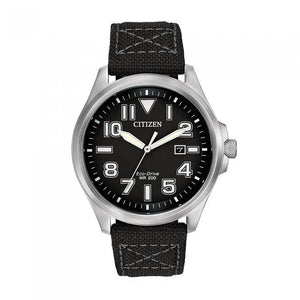 Citizen Men's AW1410-08E Military Jet Black Watch