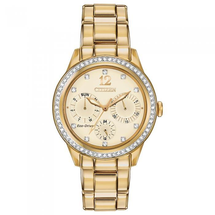 Citizen Women's FD2012-52P Silhouette Crystal w Swarovski Dial Crystals Watch