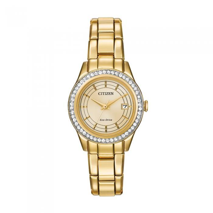Citizen Women's FE1122-53P Silhouette Crystal Watch
