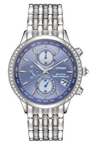 Citizen Eco-Drive Women's FC5000-51L World Chronograph A-T Watch