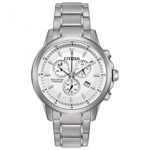 Citizen Eco-Drive Men's AT2340-56A TI+IP Watch