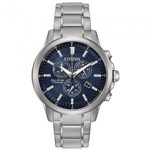 Citizen Eco-Drive Men's AT2340-56L TI+IP Watch