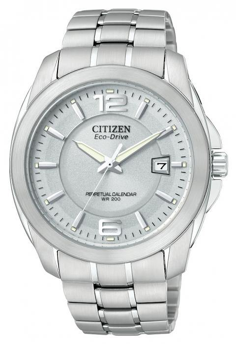 Citizen Men's BL1220-56A Eco Drive Stainless Steel Watch