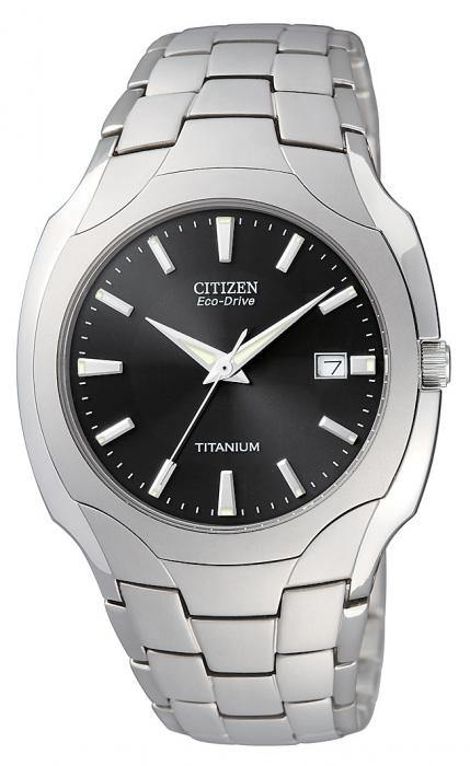 Citizen Men's BM6560-54H Eco-Drive Titanium Watch