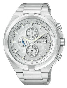 Citizen Men's CA0010-50A Eco Drive Stainless Steel Watch