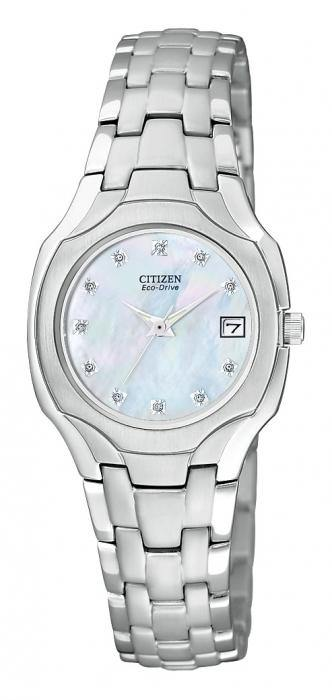 Citizen Women's EW1250-54D Eco Drive Stainless Steel Watch