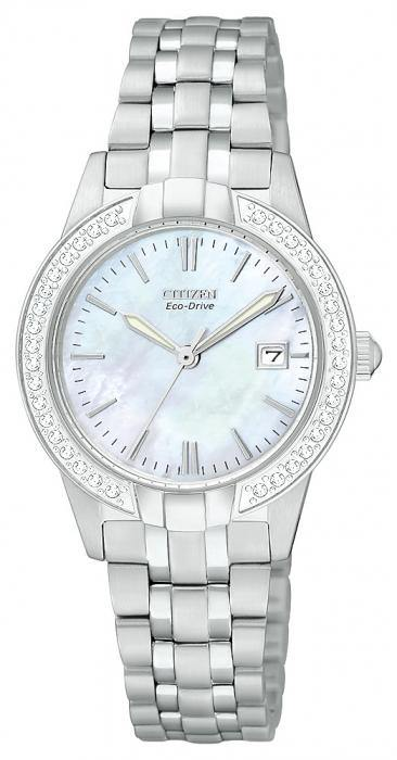 Citizen Women's EW1680-55D Silhouette Eco Drive Watch
