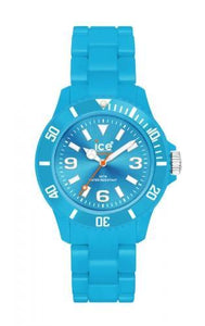 Ice-Watch Unisex Classic Fluo Blue Chronograph Watch-Blue Band-Blue Dial-CFBEUP09