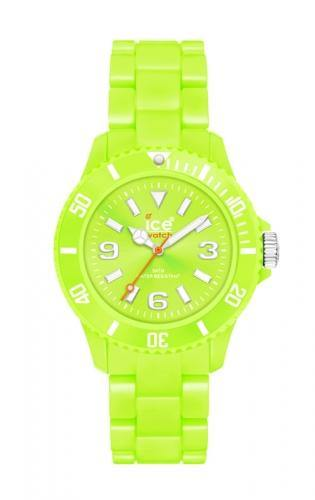 Ice-Watch Unisex Classic Fluo Acid Green Chronograph Watch-Acid Green Band-Acid Green Dial-CFGNUP09