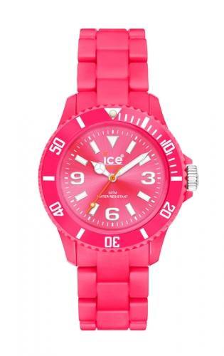 Ice-Watch Unisex Classic Fluo Pink Chronograph Watch-Pink Band-Pink Dial-CFPKUP09