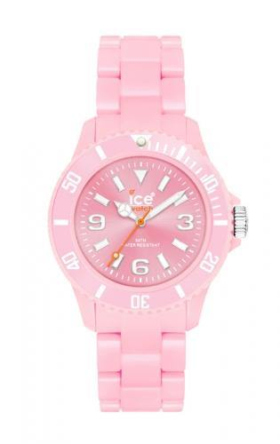 Ice-Watch Unisex Classic Pastel Pink Chronograph Watch-Pink Band-Pink Dial-CPDPKUP10