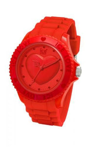 Ice-Watch Unisex Love Red Chronograph Watch-Red Band-Crystal Dial-LORDUS10