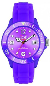 Ice-Watch Unisex Sili Forever Purple Chronograph Watch-Purple Band-Purple Sunray-SIPEUS09