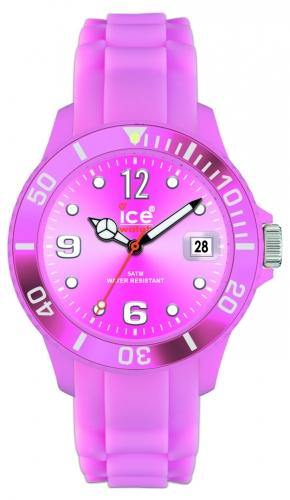 Ice-Watch Unisex Sili Forever Pink Chronograph Watch-Pink Band-Pink Sunray-SIPKUS09