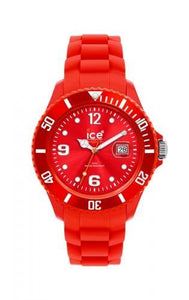 Ice-Watch Unisex Sili Forever Red Chronograph Watch-Red Band-Red Sunray-SIRDUS09