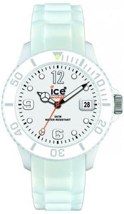 Ice-Watch Unisex Sili Forever White Chronograph Watch-White Band-White Dial-SIWEUS09