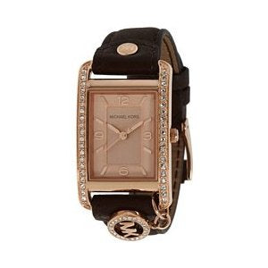 Michael Kors Ladies Rectangle Analog Watch MK2214