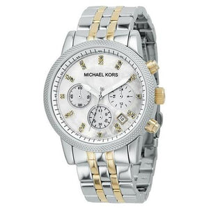 Michael Kors Two-tone Chronograph Women's Watch MK5057