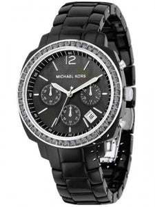 Michael Kors Acrylic Black Dial Women's Watch MK5080