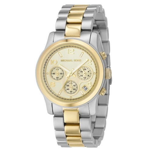 Michael Kors Two-tone Runway Women's Watch MK5137