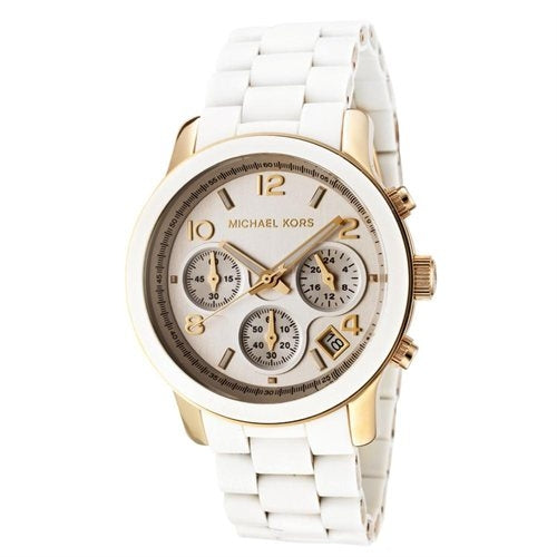 Michael Kors White Midsized Women's Watch MK5145
