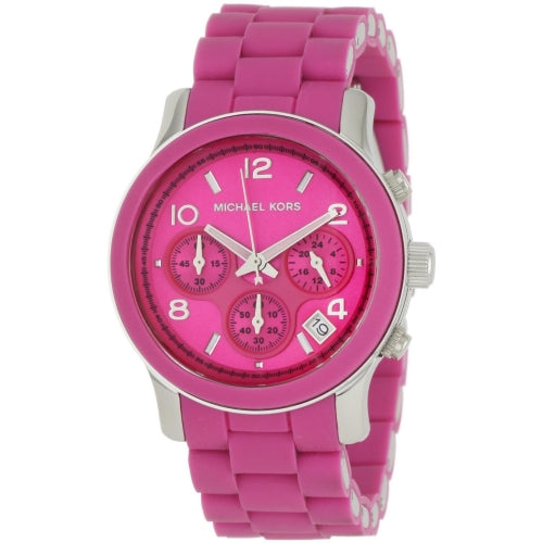 Michael Kors Polyurethane Pink Women's Watch MK5206