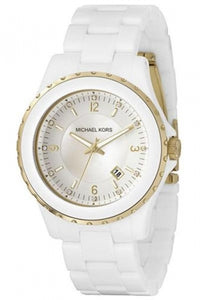 Michael Kors White Acrylic Women's Watch MK5249