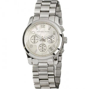 Michael Kors Mother of Pearl Dial Stainless Steel Chronograph Women's Watch MK5304