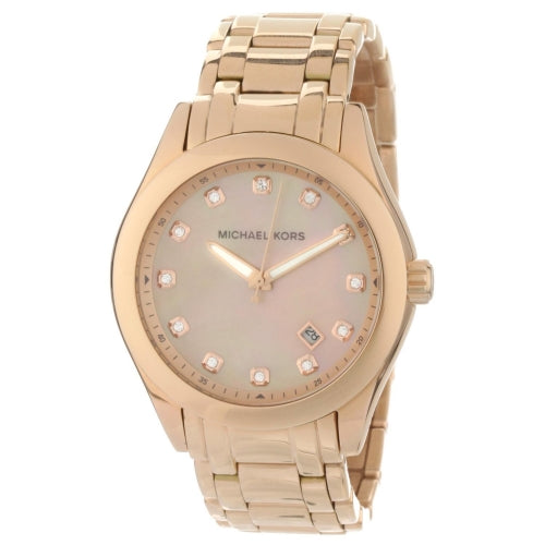 Michael Kors Rose Gold Tone Stainless Steel Women's Watch MK5311