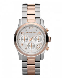 Michael Kors Silver-Tone Dial Women's Watch MK5315