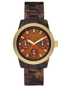 Michael Kors Mini Tortoise Acrylic Women's Watch MK5399