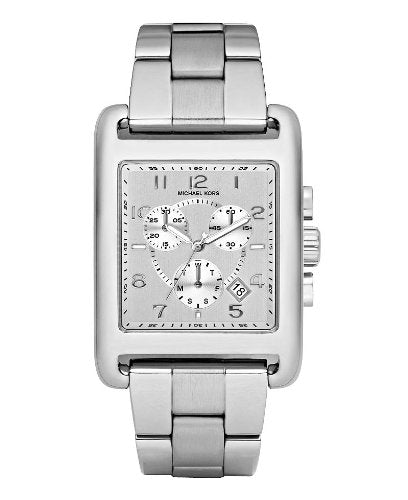 Michael Kors Light Silver Dial Stainless Steel Women's Watch MK5435