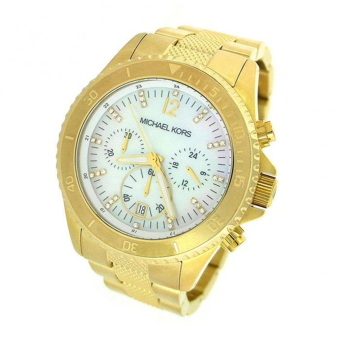 Michael Kors Gold-tone White Dial Women's Watch MK5437