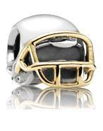 Football Helmet Charm