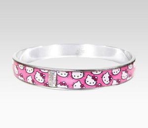 Hello Kitty Bangle Pink Faces