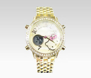 Hello Kitty Wristwatch Gold
