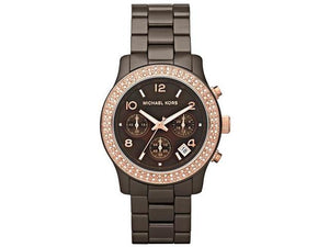 Michael Kors Runway Chocolate Glitz Women's Watch MK5517
