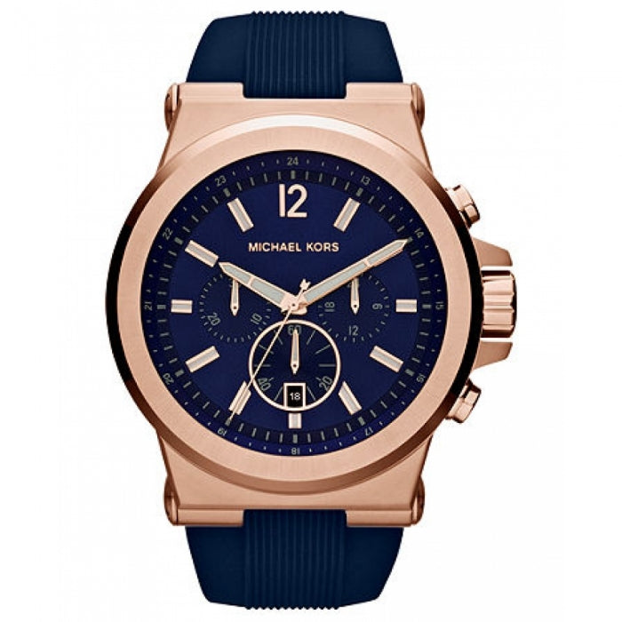 Michael Kors Dylan Navy and Gold-tone Men's Watch MK8295