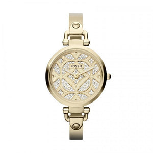 Georgia Leather-Sand Women's Watch ES2830