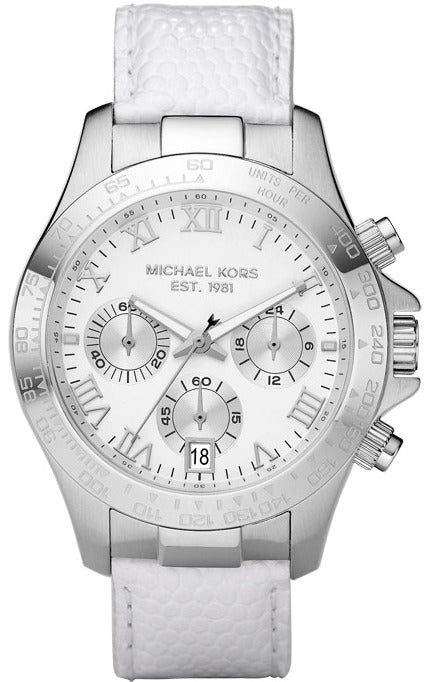 Michael Kors Leather Chronograph Layton Women's Watch MK5456